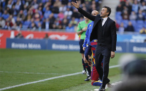 El FC Barcelona de Luis Enrique todavía está en condiciones de mejorar los números de la primera vuelta de la pasada temporada