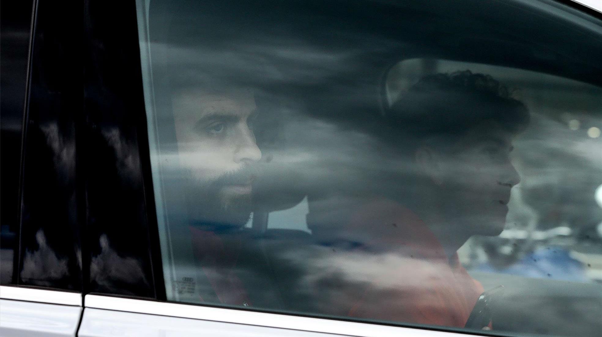 El barcelonismo, a la espera del alcance de la lesión de Piqué