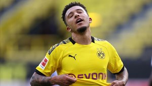 El Borussia Dortmund no ha querido soltar a Jadon Sancho.