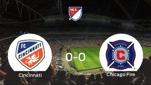 El Cincinnati y el Chicago Fire empatan y se llevan un punto (0-0)