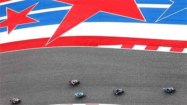 El circuito de Austin del GP de las Américas de MotoGP (ES)