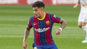 Coutinho ha podido inaugurar el marcador en el Camp Nou