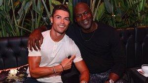 Cristiano y Jordan, de fiesta en la Costa Azul
