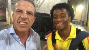 Cuadrado retrata a Cristóbal Soria en su búsqueda por Serresiete | Mundo Deportivo