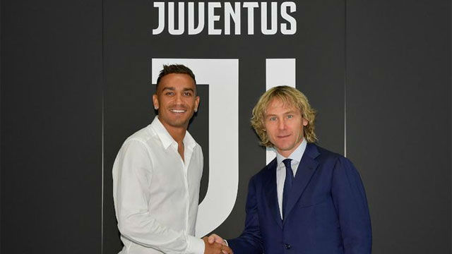 Danilo ha sido presentado con la Juventus