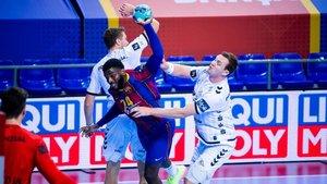 Dika Mem fue uno de los faros del Barça en ataque