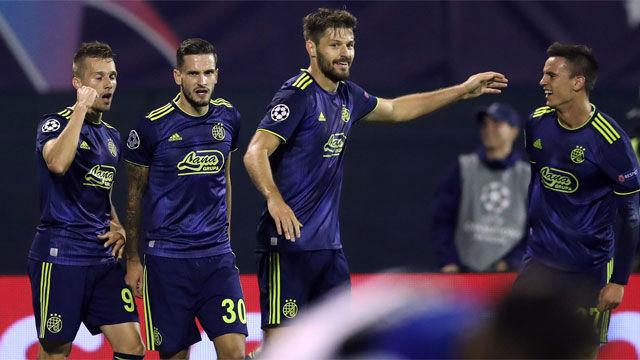 El Dinamo arrolla al Atalanta en casa