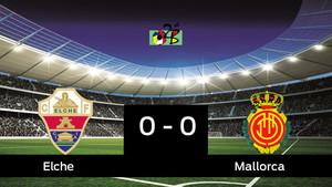 El Elche y el Mallorca empataron 0-0