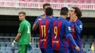 El Eldense ya se había dejado golear en un partido anterior al del Barça B