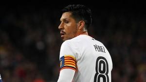 Enzo Pérez tenía dos años más de contrato con el Valencia