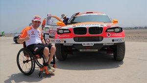 Esteve cuenta los días para preparar el Dakar 2020