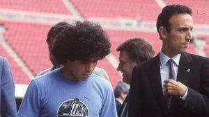 Gaspart intervino directamente en el fichaje de Maradona