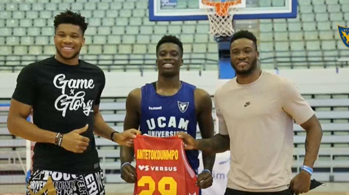 Giannis Antetokounmpo: Alex está en una ciudad para ser mejor jugador