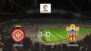 El Girona gana por 1-0 al Almería