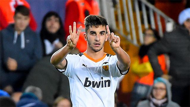 El golazo por la escuadra de Ferran Torres que sentenció al Granada