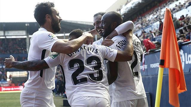 El Granada se acerca a Europa tras la victoria en El Sadar
