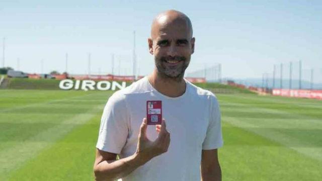 Guardiola, socio del Girona