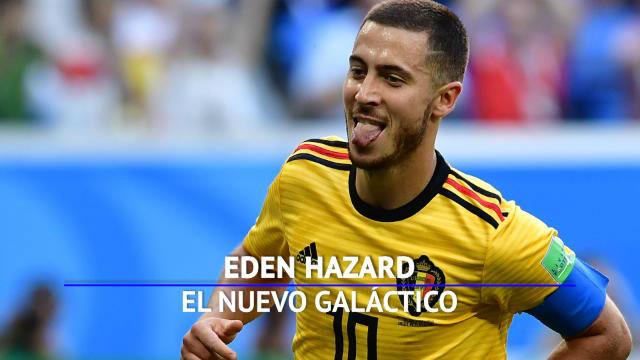 Hazard, el nuevo galáctico del Real Madrid