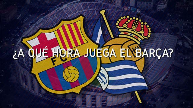 El horario del Barça - Real Sociedad en todo el mundo