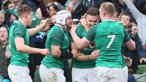 Irlanda doblegó a Escocia y ganó el Seis Naciones
