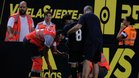 Jairo cayó lesionado en Cádiz