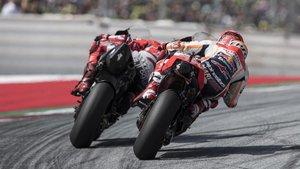 Jorge y Marc, en acción en una carrera de esta temporada