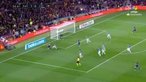 LALIGA   Barça-Espanyol (5-0): El gol de Messi que puso el 2-0