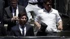 Leo Messi, a su llegada al juicio