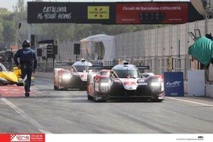 Los prototipos de Toyota han mandado en Barcelona