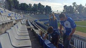 Los socios del Sabadell no podrán ir al palco de la Nova Creu Alta
