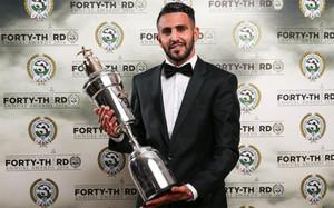 Mahrez, mejor jugador de la Premier