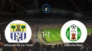 El Mancha Real saca un punto al Alhaurín De La Torre a domicilio (1-1)