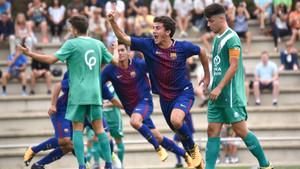 Mateu Jaume, un lateral ofensivo y con gol