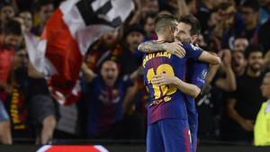 Messi volvió a ser decisivo en la victoria del Barça