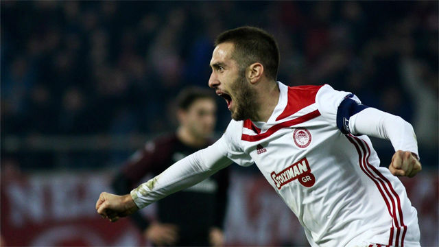El Milan cae de la Europa League a manos del Olympiacos