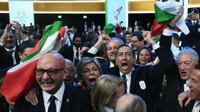 Milán, elegida como sede de los Juego Olímpicos de Invierno 2026