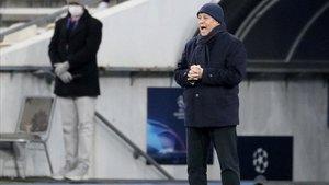 Mircea Lucescu, entrenador del Dinamo de Kiev