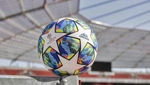 El nuevo balón de la Champions destaca por su colorido