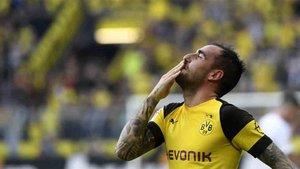 Paco Alcácer triunfa en el Borussia Dortmund