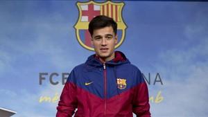 Philippe Coutinho tardará unas tres semanas en estrenarse con el Barcelona