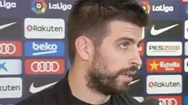 Piqué bautizó al Espanyol de Cornellà