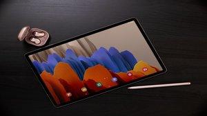 Presentan las nuevas Galaxy Tab S7 y S7 Plus