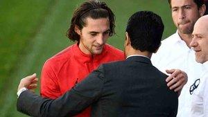 El presidente del PSG se mantiene intransigente con Rabiot