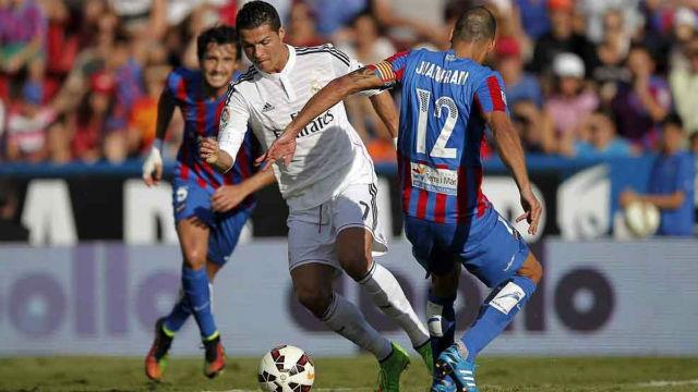 El Real Madrid llega a Valencia con ganas del Levante