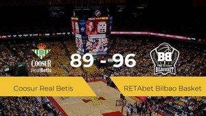 El RETAbet Bilbao Basket se impone por 89-96 frente al Coosur Real Betis