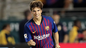 Riqui Puis vuelve al Barça B después de haber sorprendido en el primer equipo