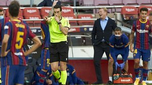 Ronald Koeman no rectifica sus crítica al VAR tras el clásico FC Barcelona - Real Madrid