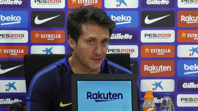 Schelotto: El Barcelona es uno de los mejores del mundo