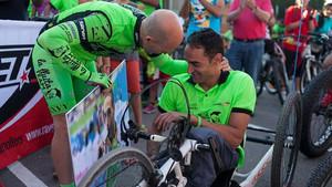 Sergi Mingote con Miguel Luque