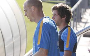 Sergi Roberto y Mathieu son los laterales titulares